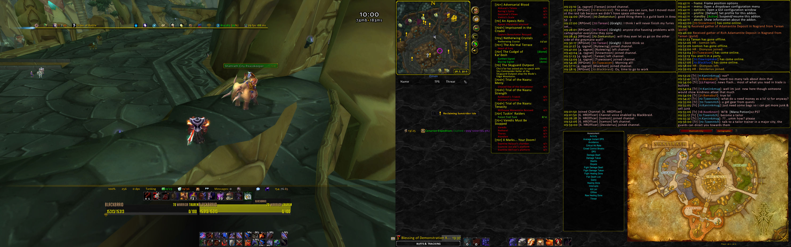 informant vanilla wow addon commands